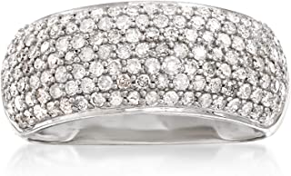 Ross-Simons 1.00 ct. t.w. Pave Diamond Ring in 14kt White Gold