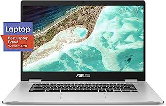 "ASUS Chromebook C523 Laptop- 15.6"" HD NanoEdge Display with 180 Degree Hinge, Intel Dual Core Celeron N3350 Processor, 4GB..."