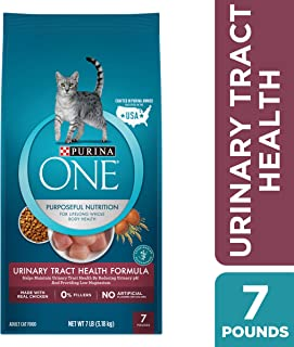 Purina ONE Urinary Tract Health Dry Cat Food, Urinary Tract Health Formula - 7 lb. Bag