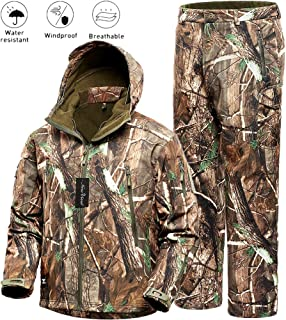 NEW VIEW Hunting Jacket Water Resistant Hunting...