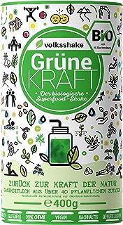 Volksshake Grüne Kraft – BIO Smoothiepulver – DE-ÖKO-006- Die natürliche..
