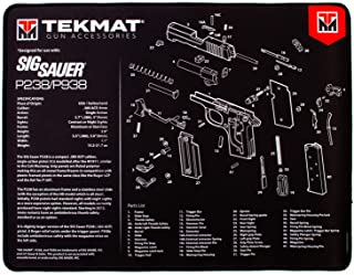 TekMat Ultra Cleaning Mat for use with Sig P238
