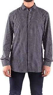 Luxury Fashion Mens MCBI31639 Blue Shirt   Season Outlet