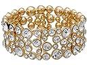 GUESS Stone Stretch Bracelet (Gold/Crystal)