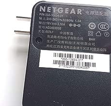 Netgear 332-10634-01 332-10631-01 AD2003D00 AD2003F10 60W 19V 3.16A AC Adapter Nighthawk X10 X8 X6 X6S X4S R8900 R8500 R8300 R7900P R8000P C7800 EX8000 Wi-Fi Router