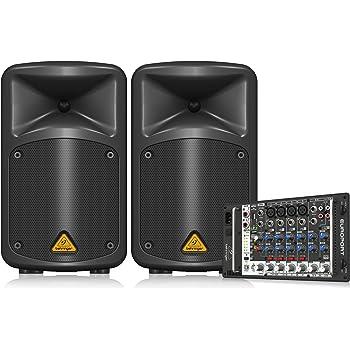 Behringer EPS500MP3 - Eps-500 mp3 sistema 500w eos500 mp3 par ...