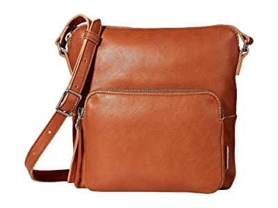 ECCO Casper Crossbody (Amber) Cross Body Handbags