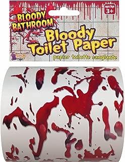 Bloody Bathroom Toilet Paper