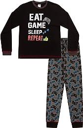 garçons Eat Sleep Jeu Repeat contrôleur Long Pyjam