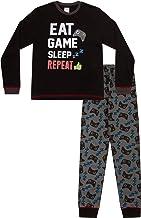 Boy/'s pas dormir juste rechargeant pyjama 9 To 16 ans rouge gris Pj Pyjama
