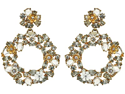 J.Crew Watusi Earrings (Crystal) Earring