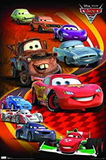 Trends International Cars 2 Group Wall Poster 22.375