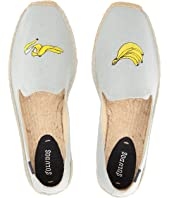 Soludos - Banana Embroidered Smoking Slipper