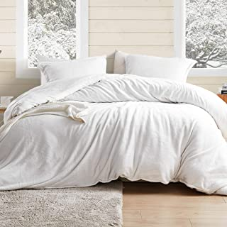 Byourbed Coma Inducer King Duvet Cover - Wait Oh What - Farmhouse White
