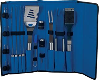 Chef Buddy Stainless Steel 20-Piece BBQ Grill Set with Case