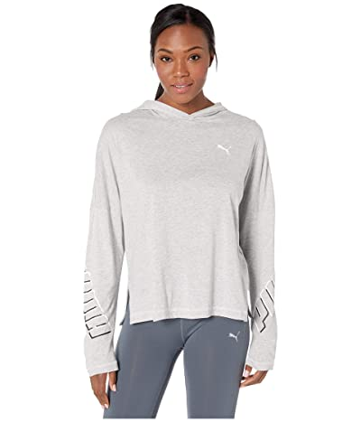 PUMA Modern Sports Light Cover-Up (Light Gray Heather) Women
