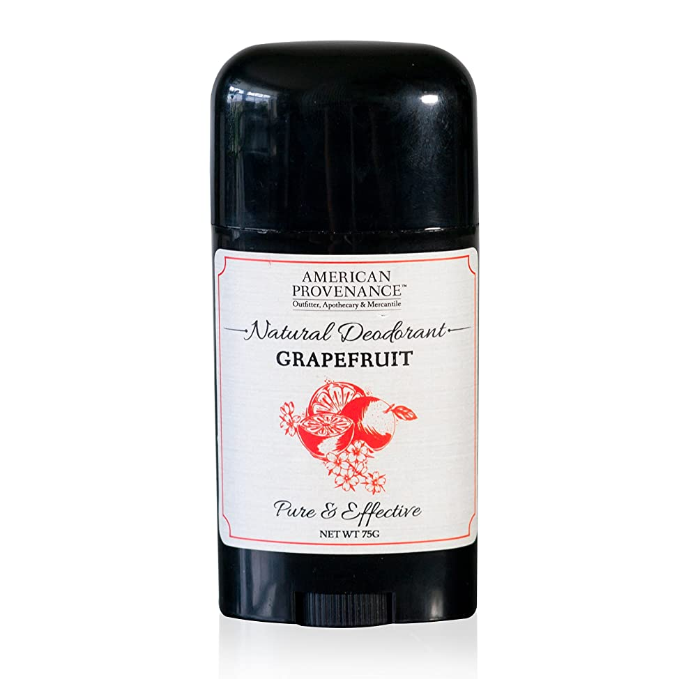 American Provenance, Deodorant Grapefruit, 2.65 Ounce