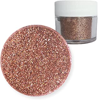 Rose Gold Hologram Dazzler Dust 5g Jar | Bakell Non-Toxic Decorating Glitters & Dusts
