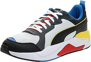 PUMA X-Ray Puma White-Puma Black-Dark Shadow- Moda Ayakkabılar Unisex Yetişkin