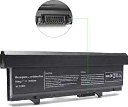 Qiouzw 86Wh Laptop Battery Replacement for Dell Latitude E5400 E5410 E5500 E5510,P/N: KM742 WU841 KM668 KM769 KM771 PW640 U116D W071D RM649 RM656 0RM668 312-0762 312-0769 312-0902 451-10616 451-10617