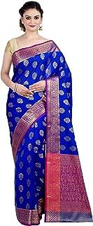 Best royal blue plain saree Reviews