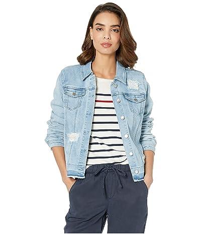 FDJ French Dressing Jeans Statement Denim Stripe Patch Jacket (Sky) Women