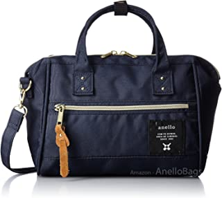 Japan Anello MINI SMALL 2 Way Unisex Shoulder Bag Poly Canvas Waterproof