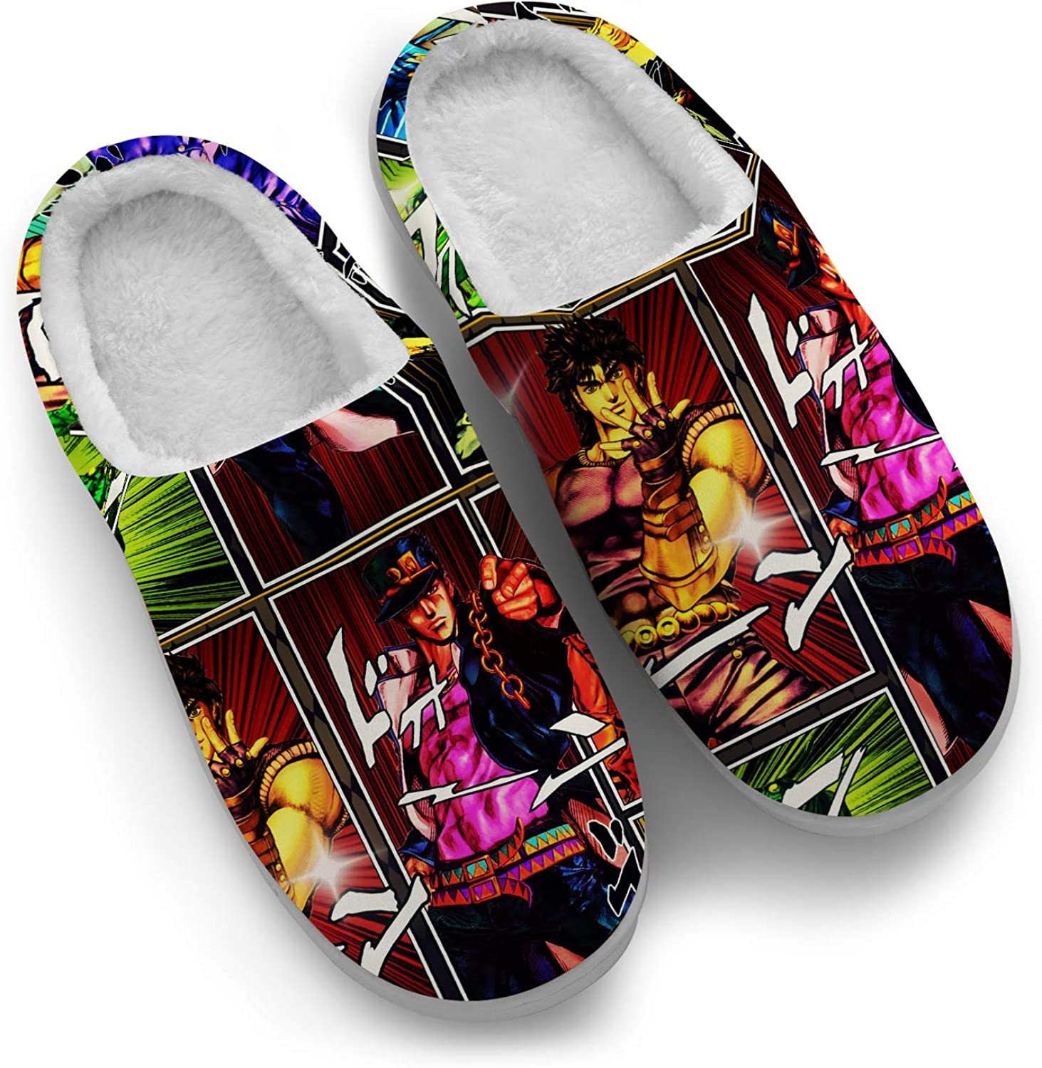 Japanese Anime Slipper for Men Women Max Free shipping anywhere in the nation 51% OFF Indoor Ultra Ou Soft Custom