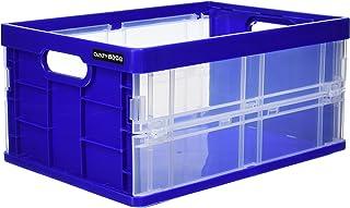 ナカバヤシ フレックスコンテナミニ 収納ボックス ブルー CFC-301B