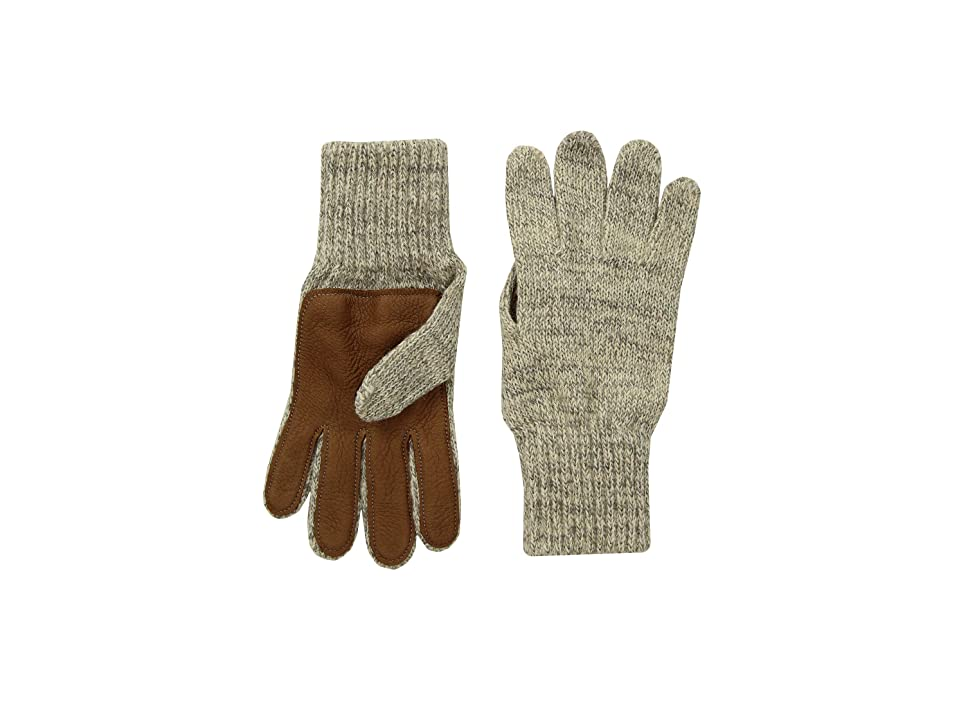 United By Blue Leather Palm Gloves (Oatmeal) Extreme Cold Weather Gloves