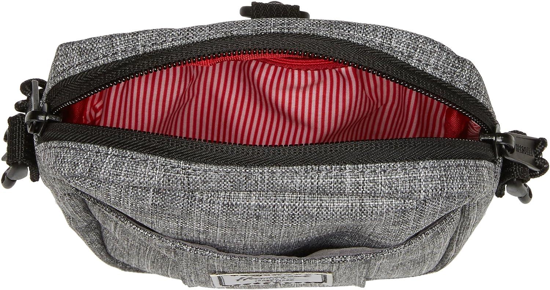 Herschel Cruz Body Bag, Raven Cross hatch, 0.5L