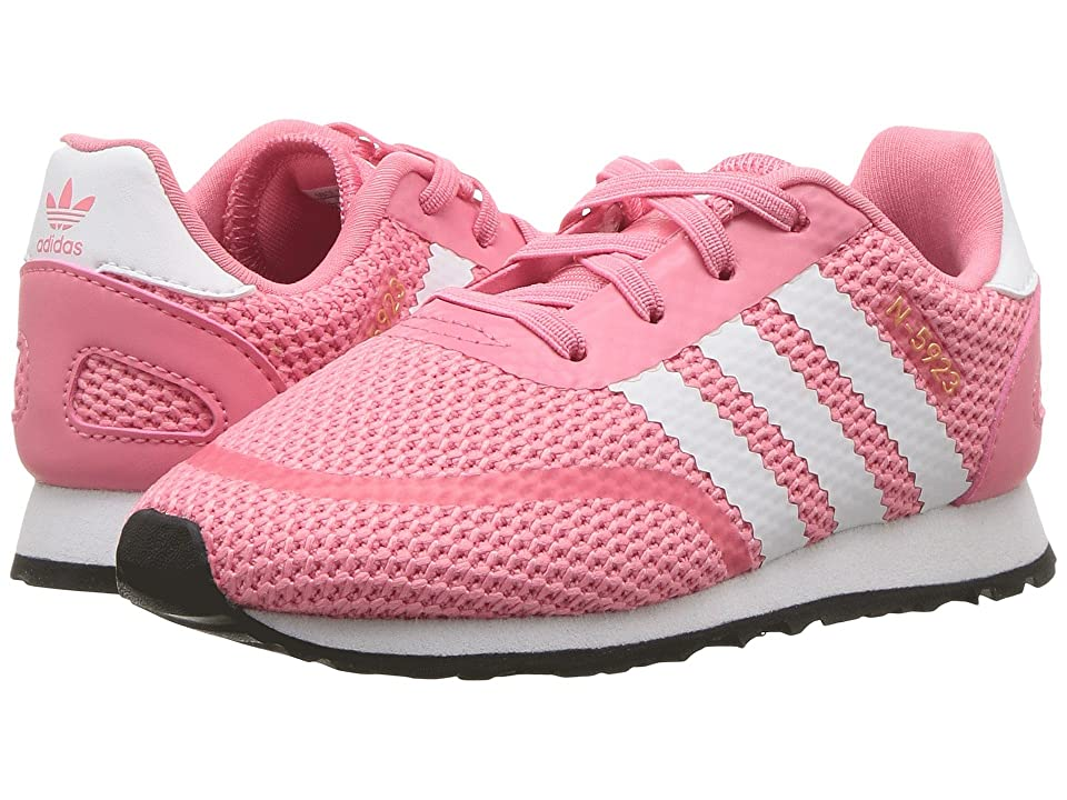adidas Originals Kids N-5923 CLS I (Toddler) (Chalk Pink/White) Girls Shoes