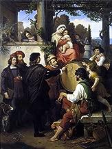 Johann Michael Wittmer Raphael's First Sketch of the 'Madonna della Sedia' - 21