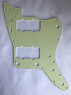 For US Jazzmaster Scratch Plate Guitar Pickguard (3 Ply Vintage Green)