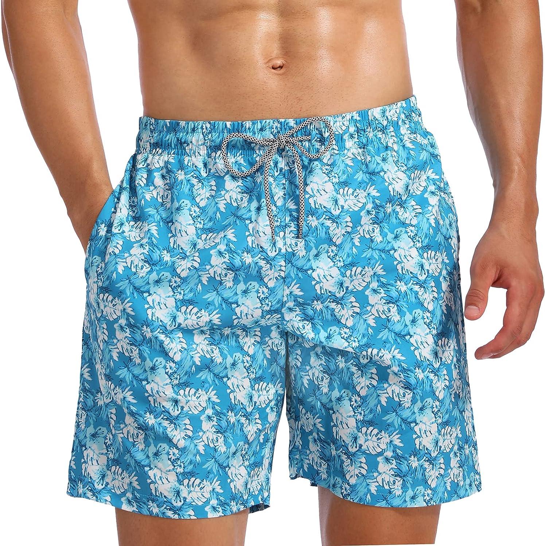 Sale item Biwisy Mens Swim Trunks Quick Lining Dry Swimwe Shorts Mesh Sacramento Mall