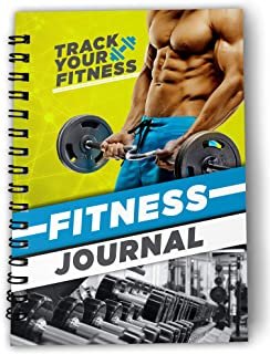 One click creations Exercise Fitness Daily, Weekly, Monthly Organizer with Hardcover 60 Days India's First and Complete Gy...