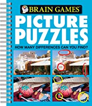 brain games picture puzzle books