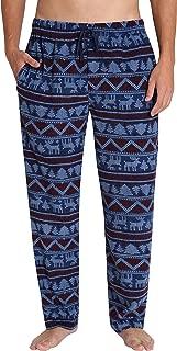 Men's Fleece Pajama Pants - Sleep & Loungewear PJ Bottoms - Standard and Big & Tall Available