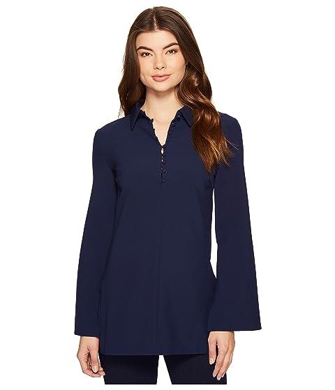 ROMEO & JULIET COUTURE Button Up Shirtdress, Navy