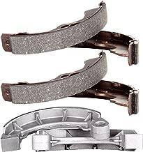 OCPTY Brake Shoes Fit for 2000 01 02 2003 Honda Rancher 350 TRX350TM 2x4 S, 2004 05 06 2007 Honda Rancher 400 TRX400FA 4x4 AT