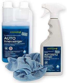 Auto Reiniger Innenraumpflege | Polsterreiniger zum Autositze reinigen | Auto Reiniger Set | Professionelle Auto Aufbereitung mit Tiefenwirkung | Der Bio Premium Reiniger
