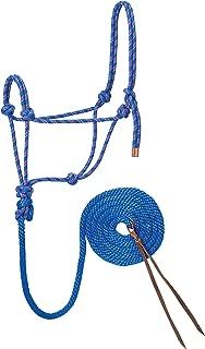 Weaver Leather Diamond Braid Rope Halter and Lead