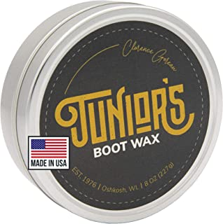 Blended Waxes, Inc, Junior's Boot and Leather Care Wax | Boot and Shoe Weatherproofing Protectant Wax | Waterproof Wax
