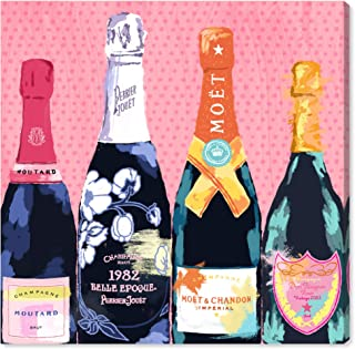 The Oliver Gal Artist Co. Drinks and Spirits Wall Art Canvas Prints 'Pass The Bottle!' Home Décor, 12