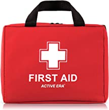 Active Era First Aid Kit - All-Purpose 260 Pieces First Aid Kit for Camping and Hiking with Medical Supplies and Handle - ...