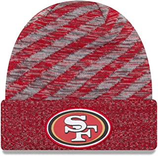 New Era San Francisco 49ers Beanie NFL 2018 On Field TD Knit Cap Red Adult One Size