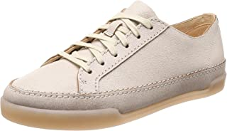 (8 UK, White (White Leather)) - Clarks Women's Hidi Holly Low-Top Sneakers