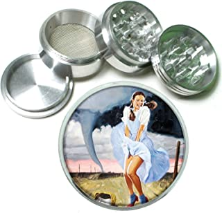 Dorothy Wizard of Oz Classic 4 Pc. Aluminum Tobacco Spice Herb Grinder