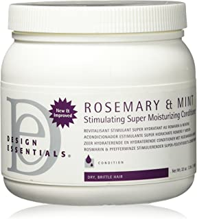 Design Essentials Rosemary & Mint Stimulating Super Moisturizing Conditioner For Dry, Brittle Hair - 32 Oz