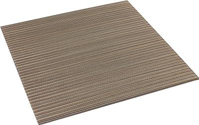 大島屋(Ooshimaya) 畳 ブラウン 約82×82×2.3cm イ草 ユニット畳 グルーヴ ブラウン 82×82×2.3cm